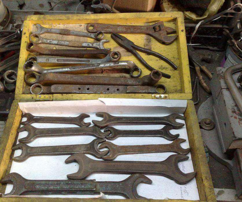 фотографии сломанных гаечных ключей